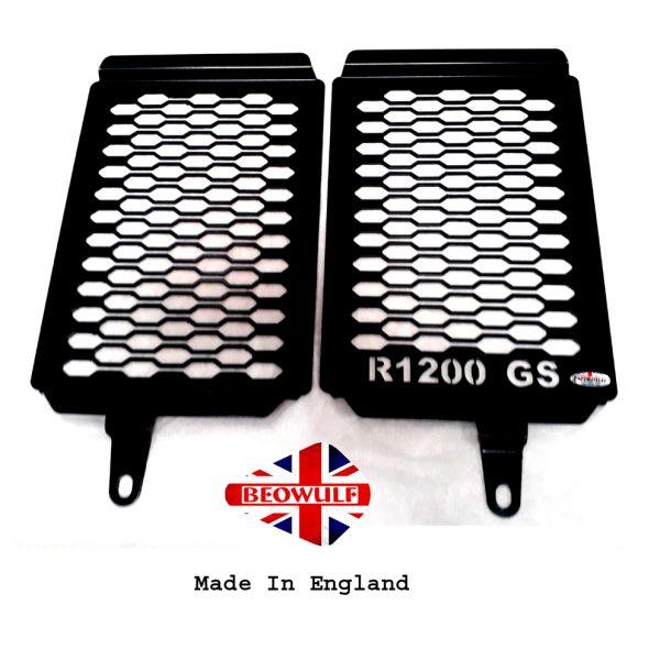 Radiator Guards Bmw R1200 Gs Gsa Lc 18 Onwards Powder Coated Black