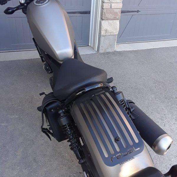 Honda Rebel CMX500 luggage rack in black 2