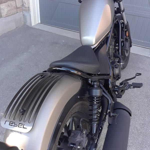 Honda Rebel CMX500 Luggage rack in black